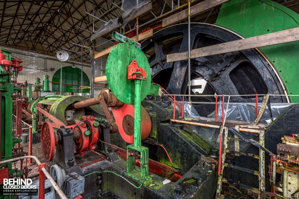 Hesketh Winding House - One of the engine's two pistons