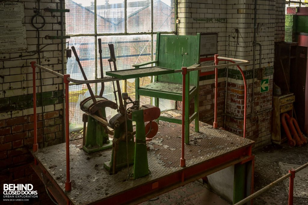 Hesketh Winding House - Banksman's chair