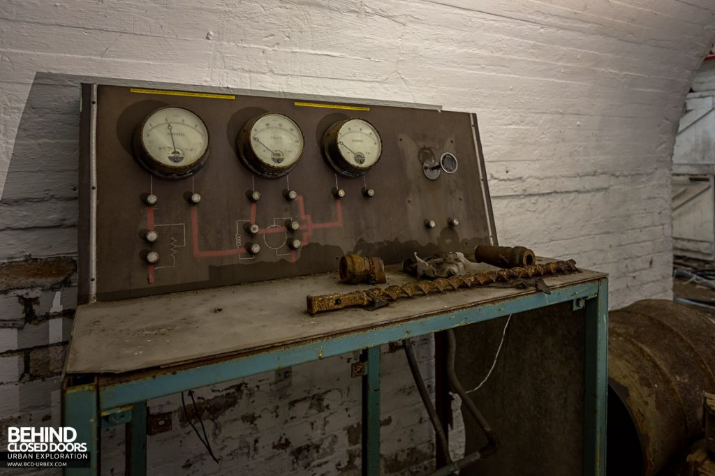 Hesketh Winding House - Control panel