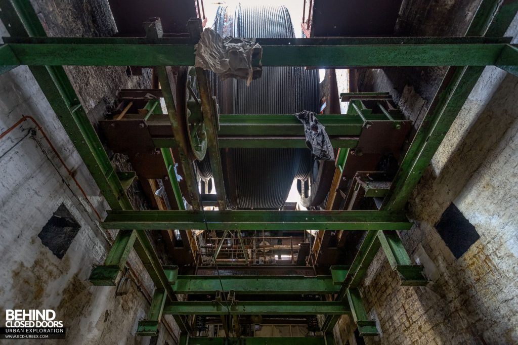 Hesketh Winding House - Underside of the winder
