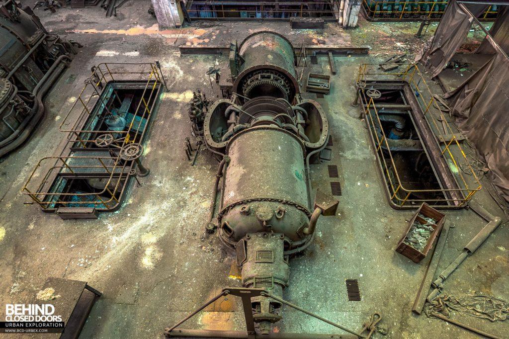 Italian Power Plant - Ansaldo viewed from above