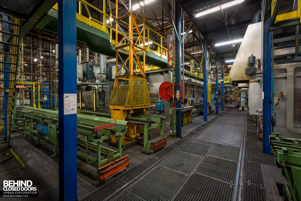 Caterpillar, Gosselies - Manufacturing machinery