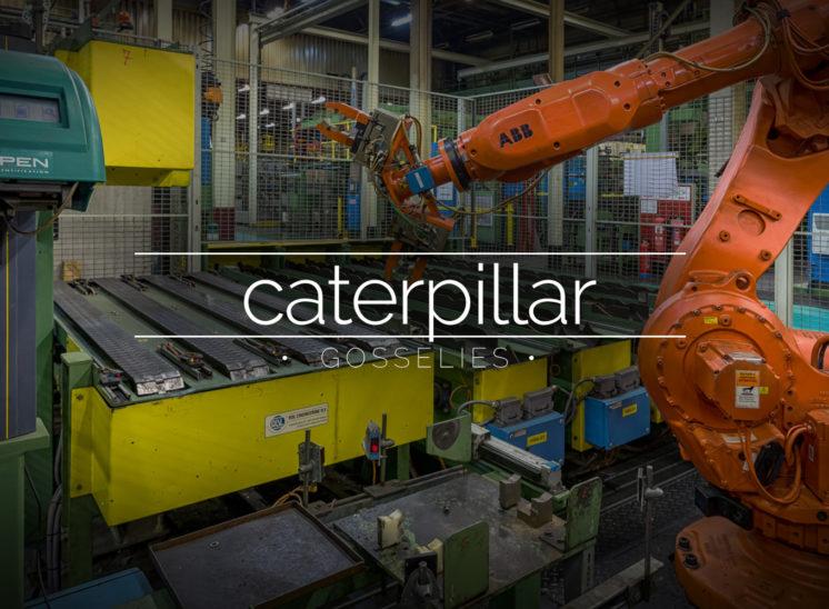 Caterpillar, Gosselies, Belgium