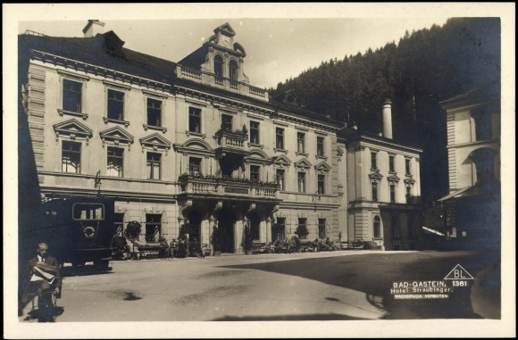 Archive photo of the Grand Hotel Straubinger