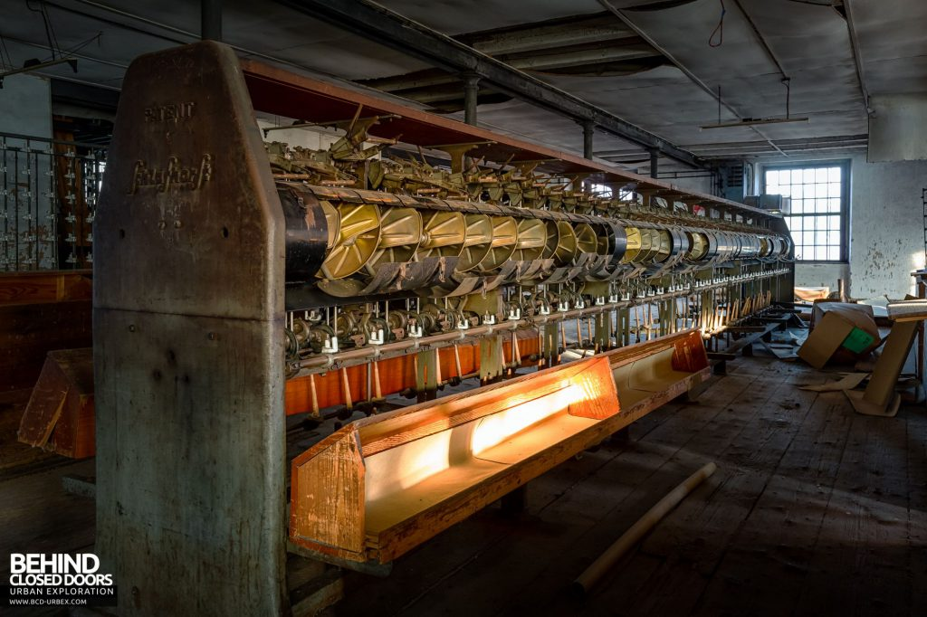 Anderl Textile Mill - More spinning machines