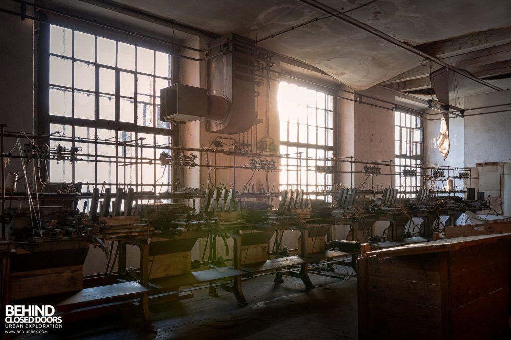 Anderl Textile Mill - Hazy evening sunlight
