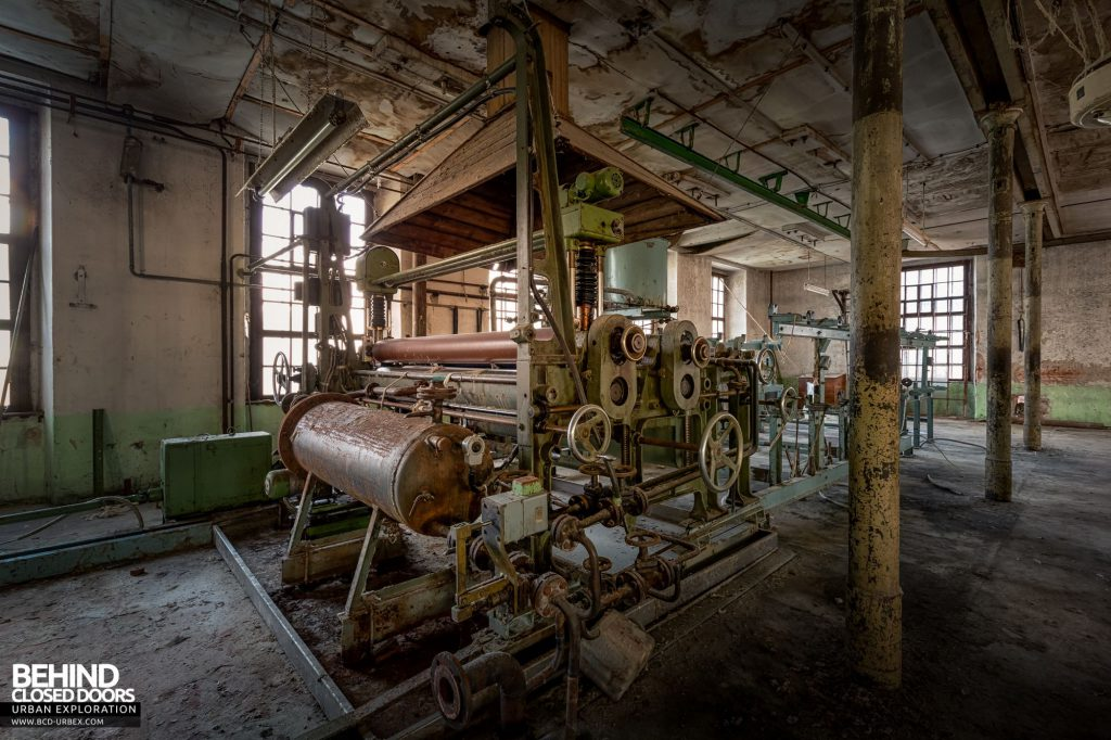 Anderl Textile Mill - Finishing machinery