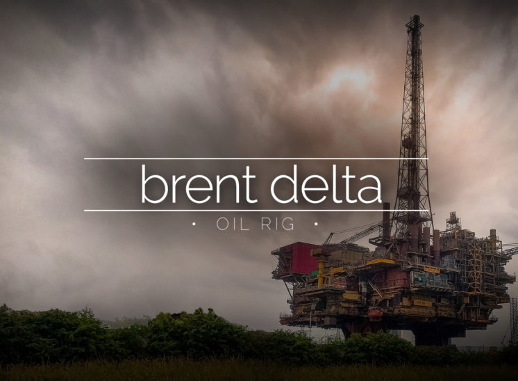 Brent Delta Oil Platform