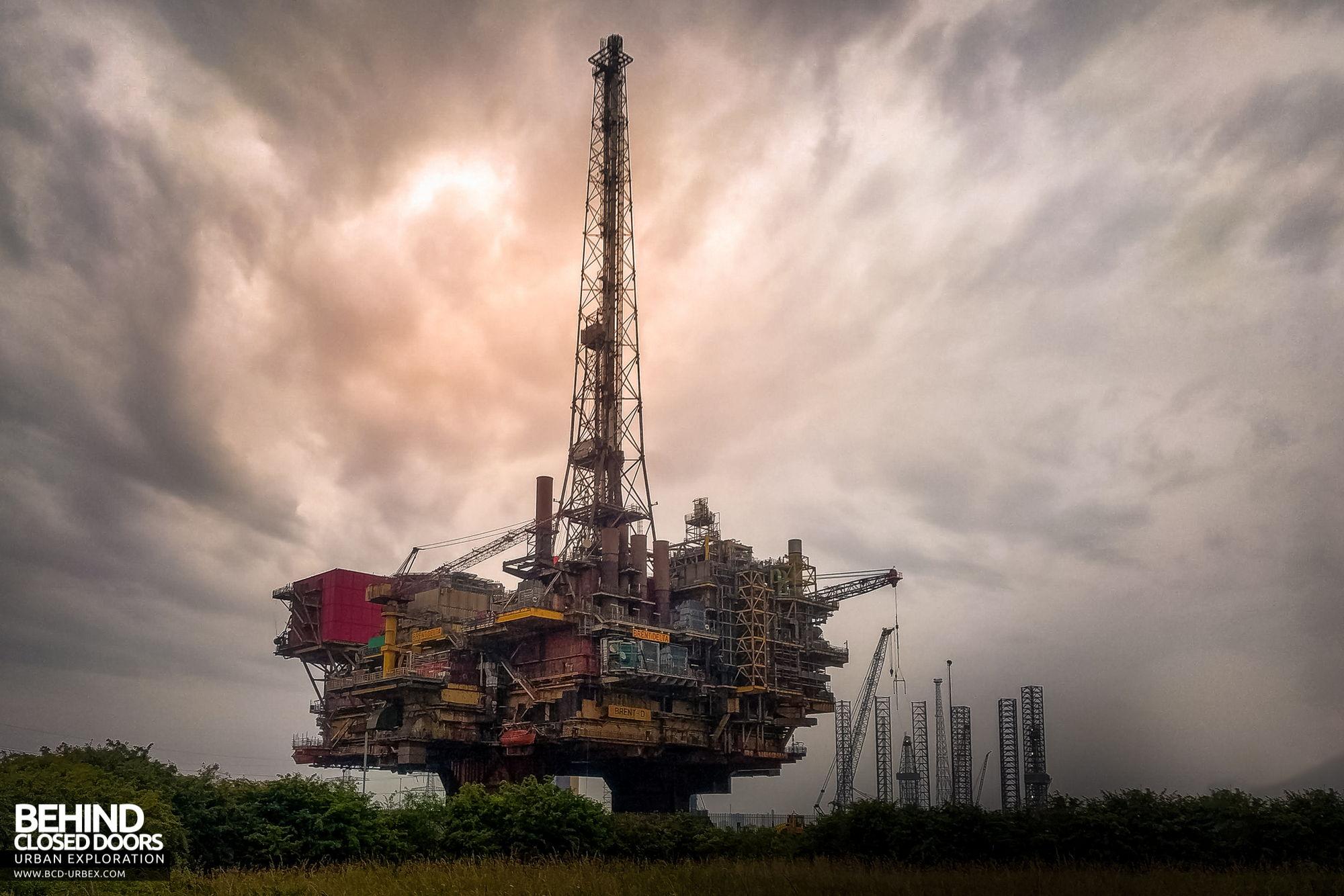Brent Delta Oil Production Platform » Urbex | Behind Closed Doors