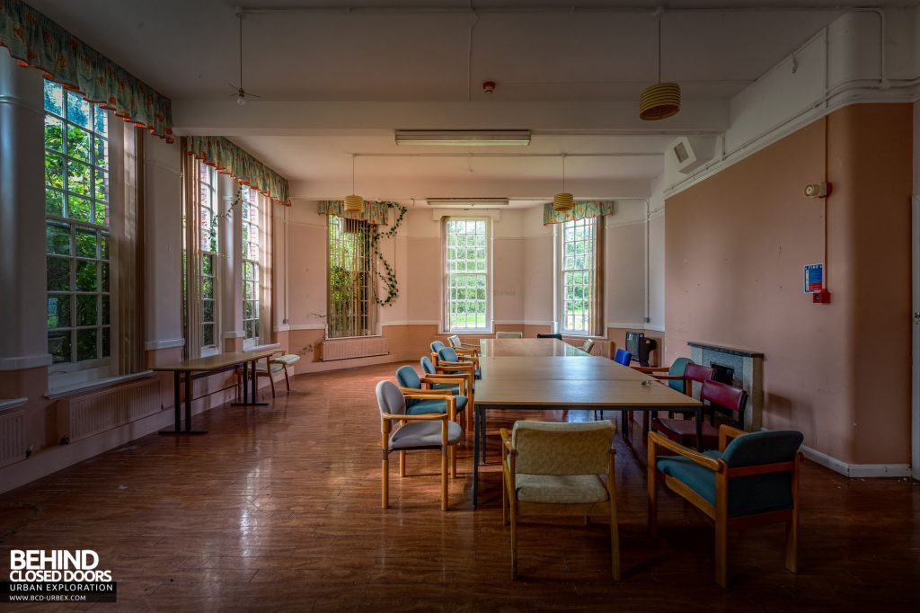 Whitchurch Hospital - Communal room in a day ward