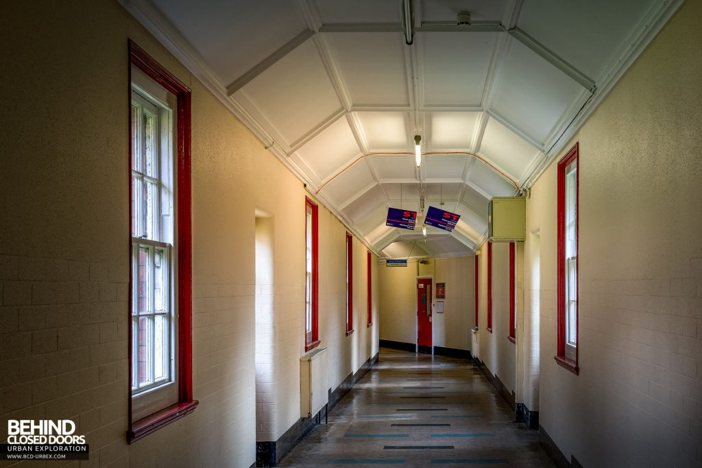 Whitchurch Hospital - Another section of the main corridor