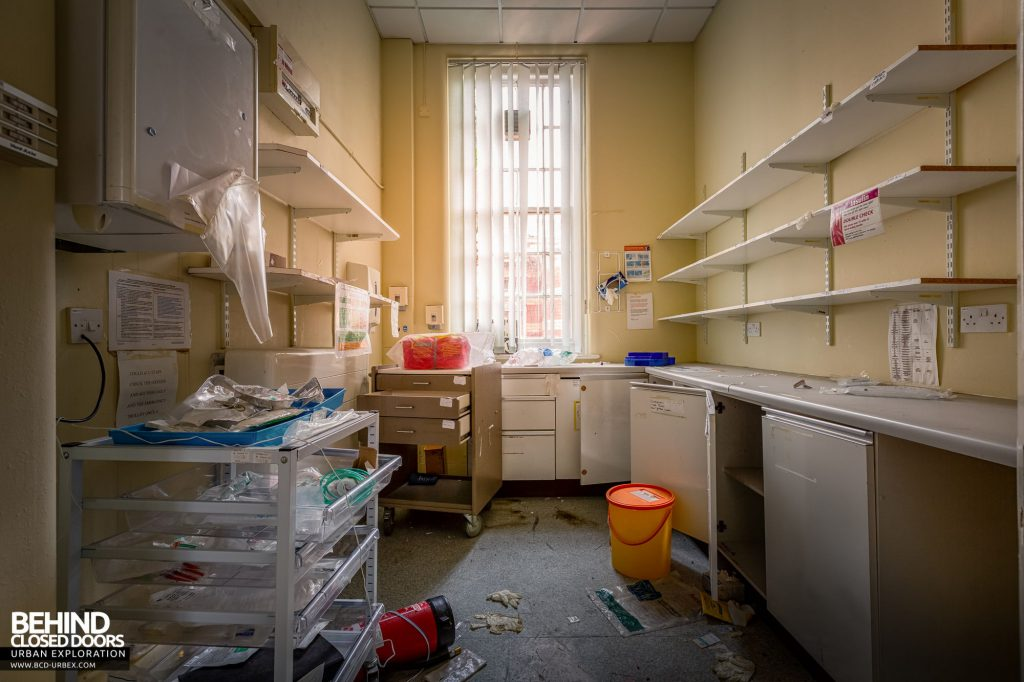 Whitchurch Hospital - Quite a few items remain in this room