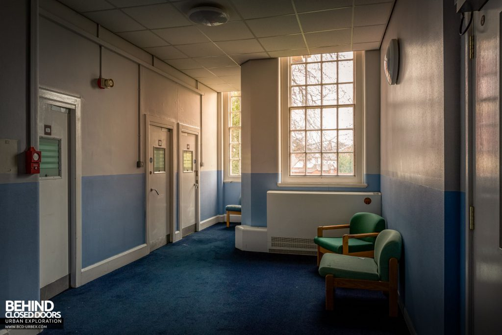 Whitchurch Hospital - Rooms in the high-security ward