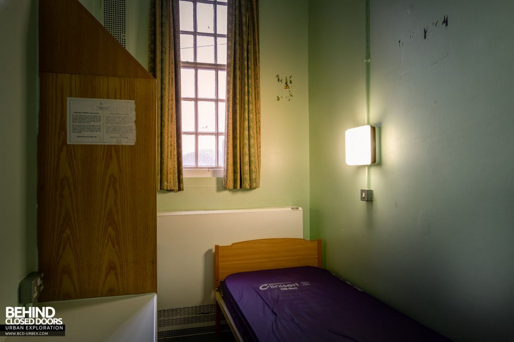 Whitchurch Hospital - One of the cell-like rooms