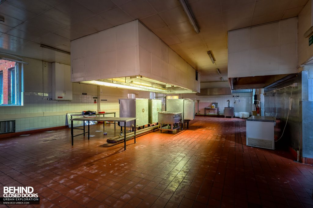 Whitchurch Hospital - The main kitchen