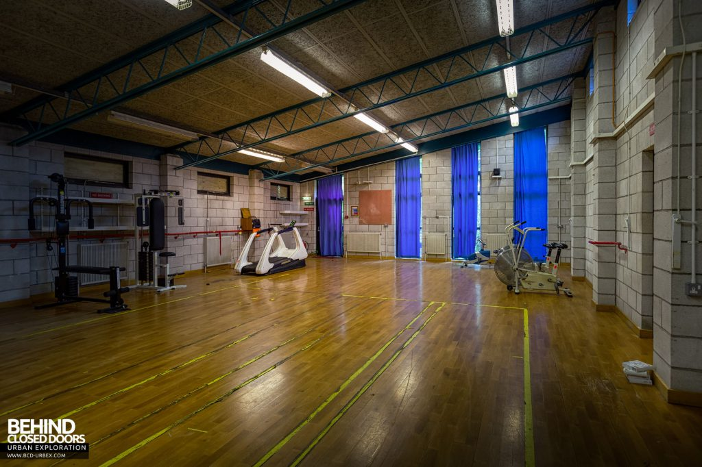 Whitchurch Hospital - One of the gymnasiums