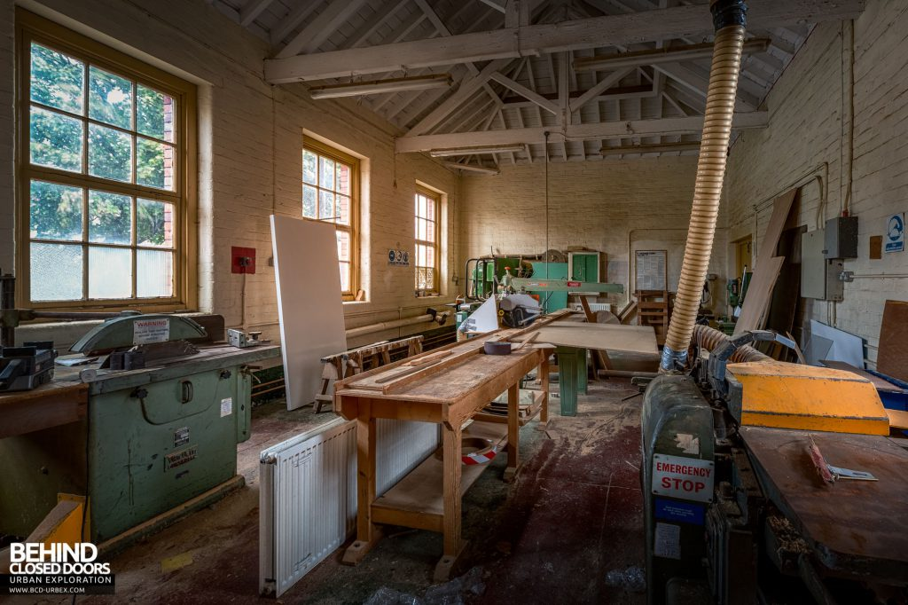 Whitchurch Hospital - Woodworking and carpentry shop