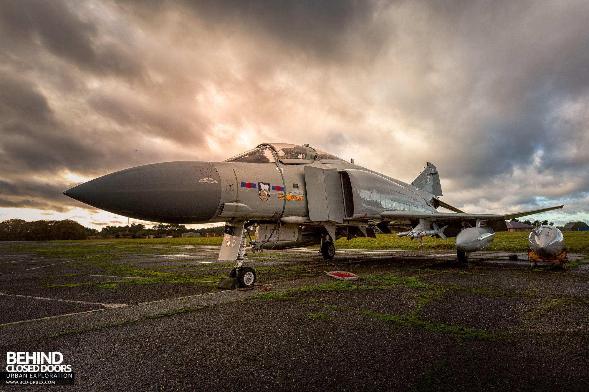 RAF Bentwaters - McDonnell Douglas F-4 Phantom Aircraft