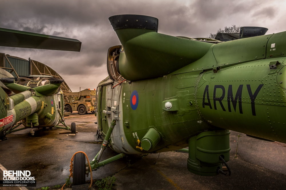 RAF Bentwaters - Lynx Helicopters