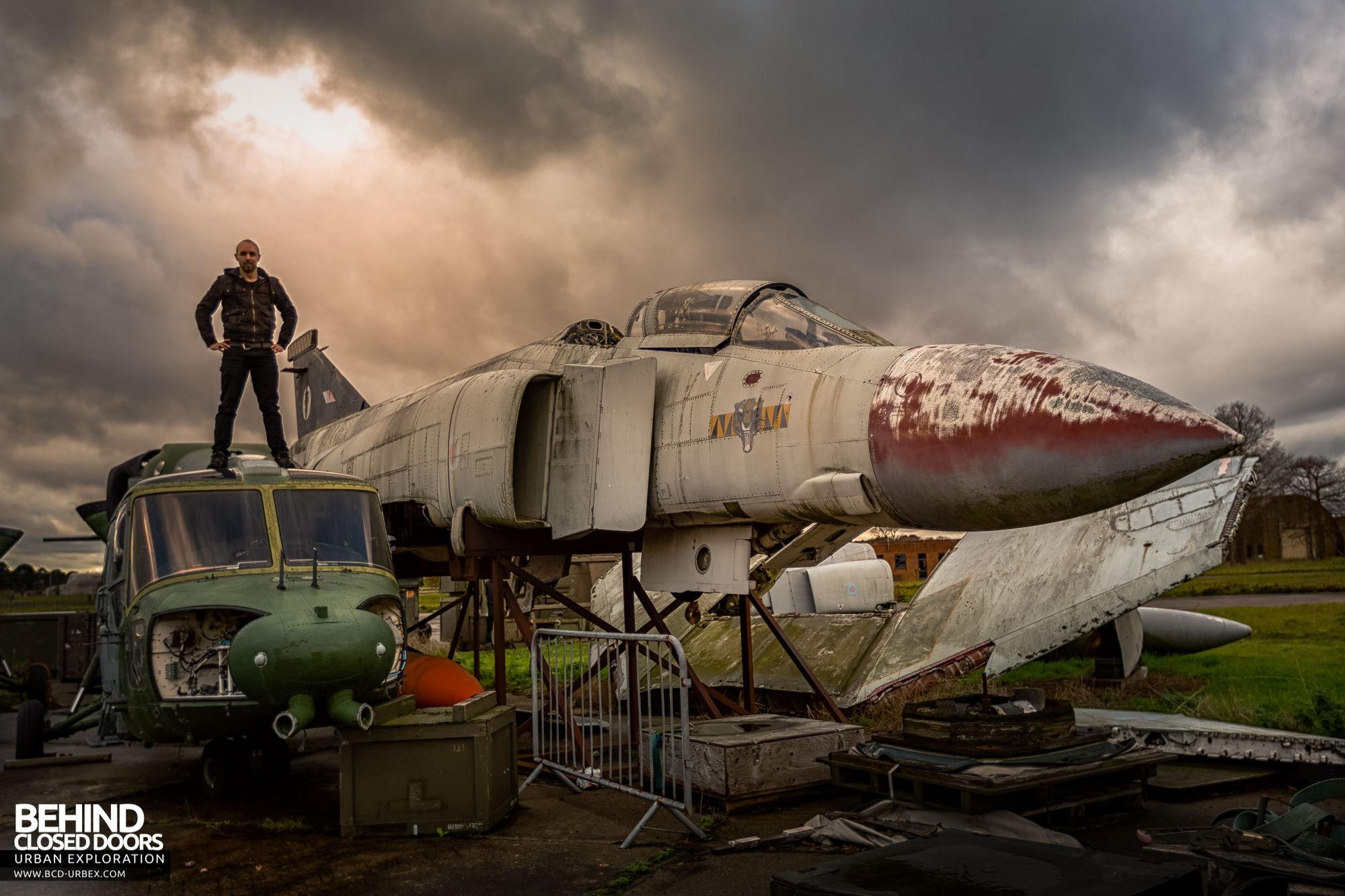 RAF Bentwaters - Selfie!