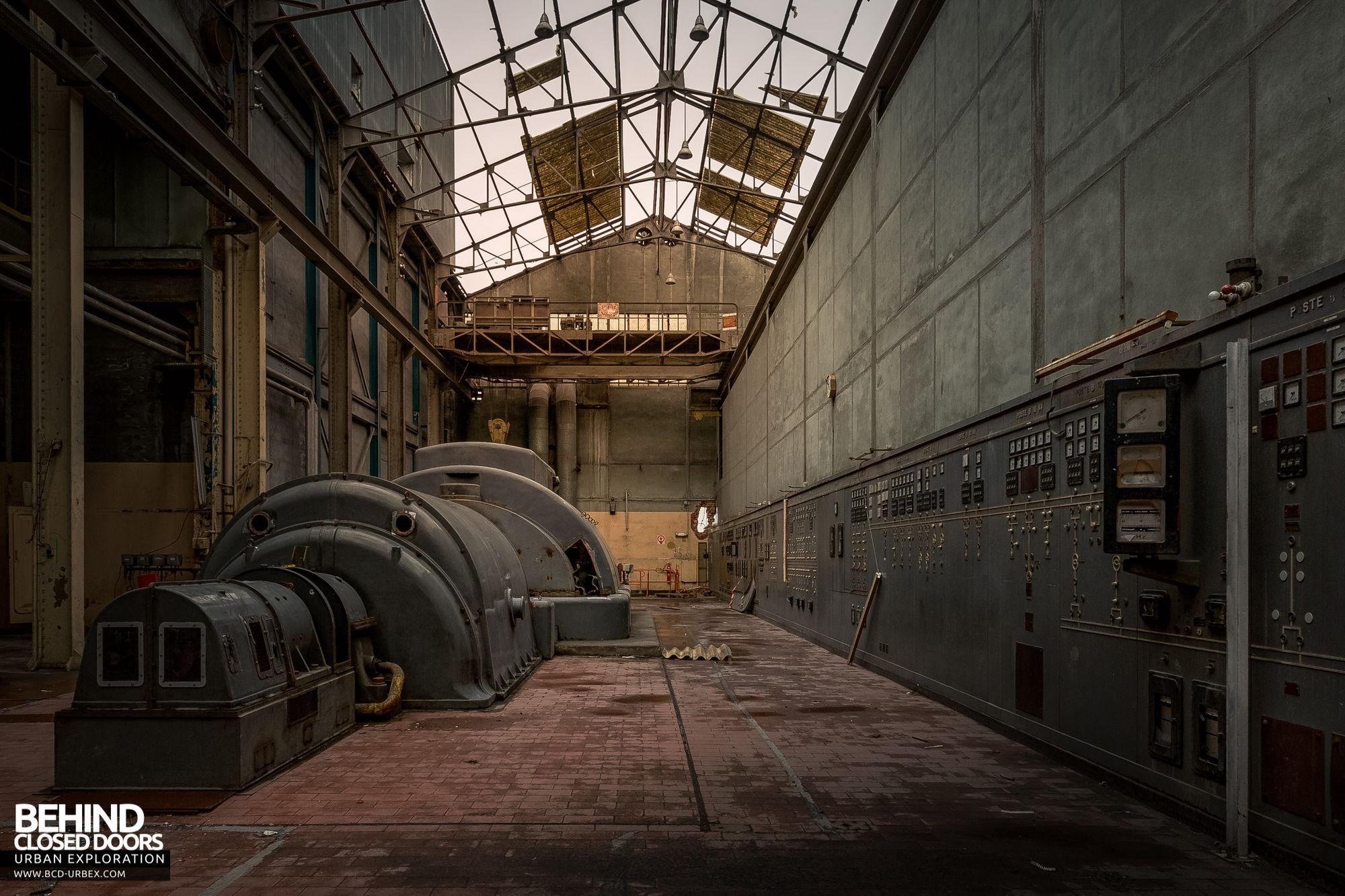 Stora Enso, Corbehem - Original turbine hall