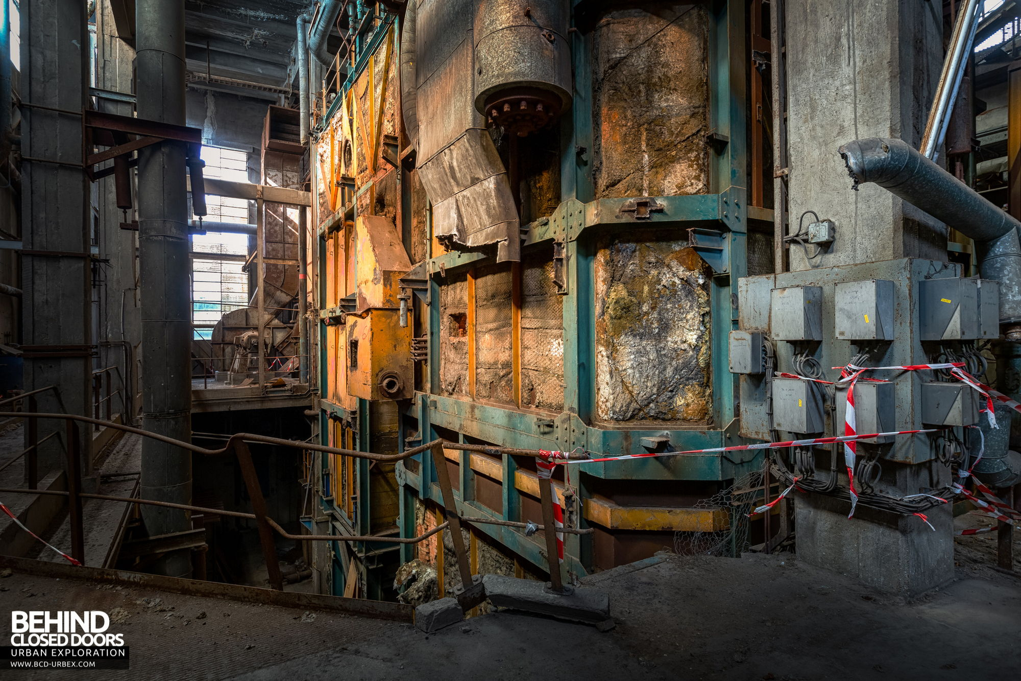 Stora Enso, Corbehem - The huge old boiler