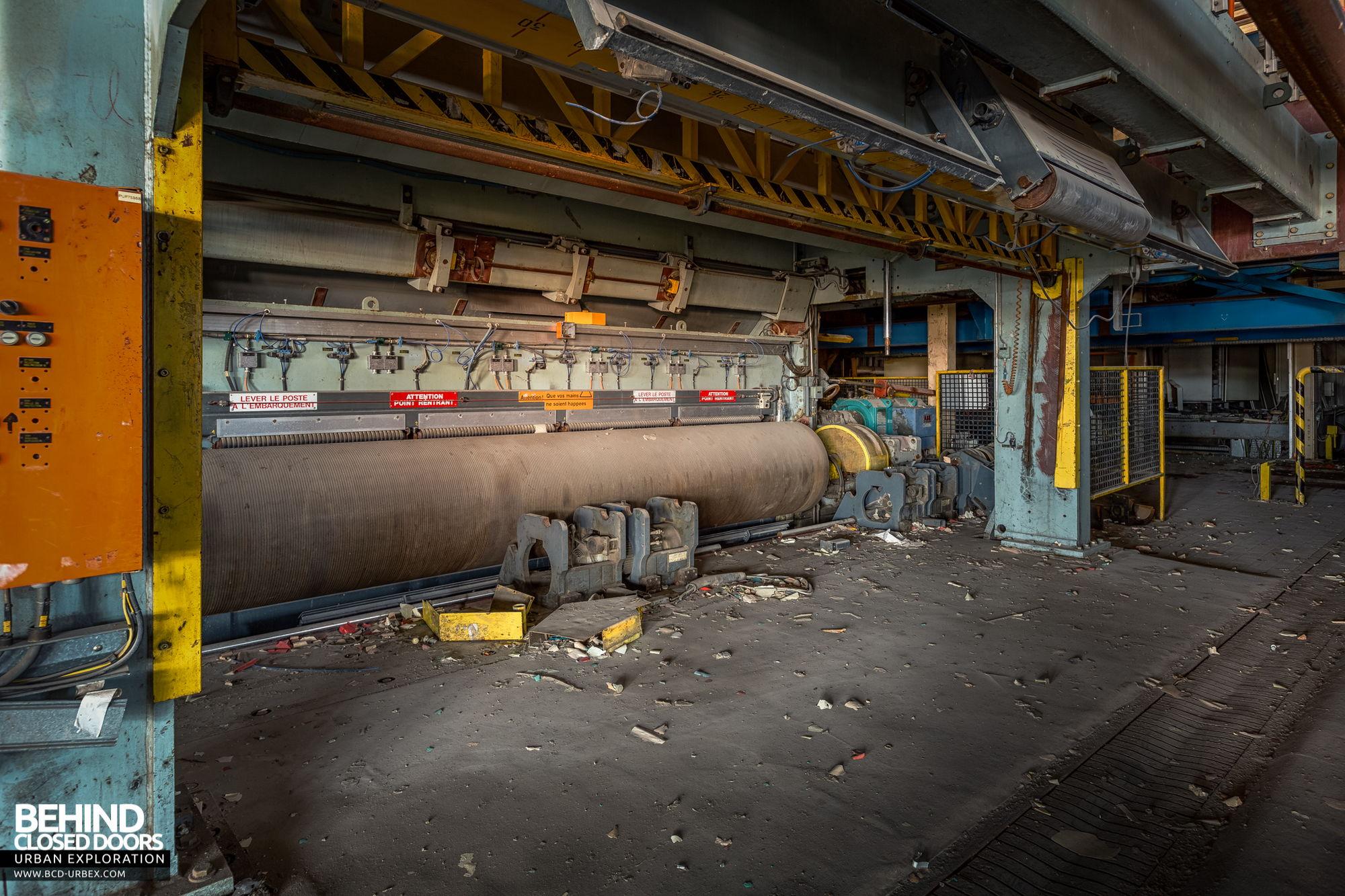 Stora Enso, Corbehem - Old paper machine equipment