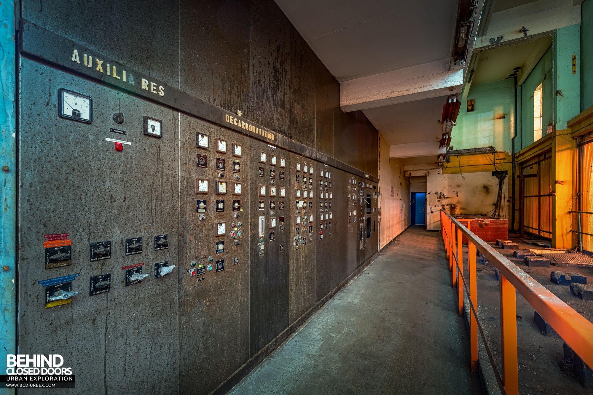 Stora Enso, Corbehem - Old control panels