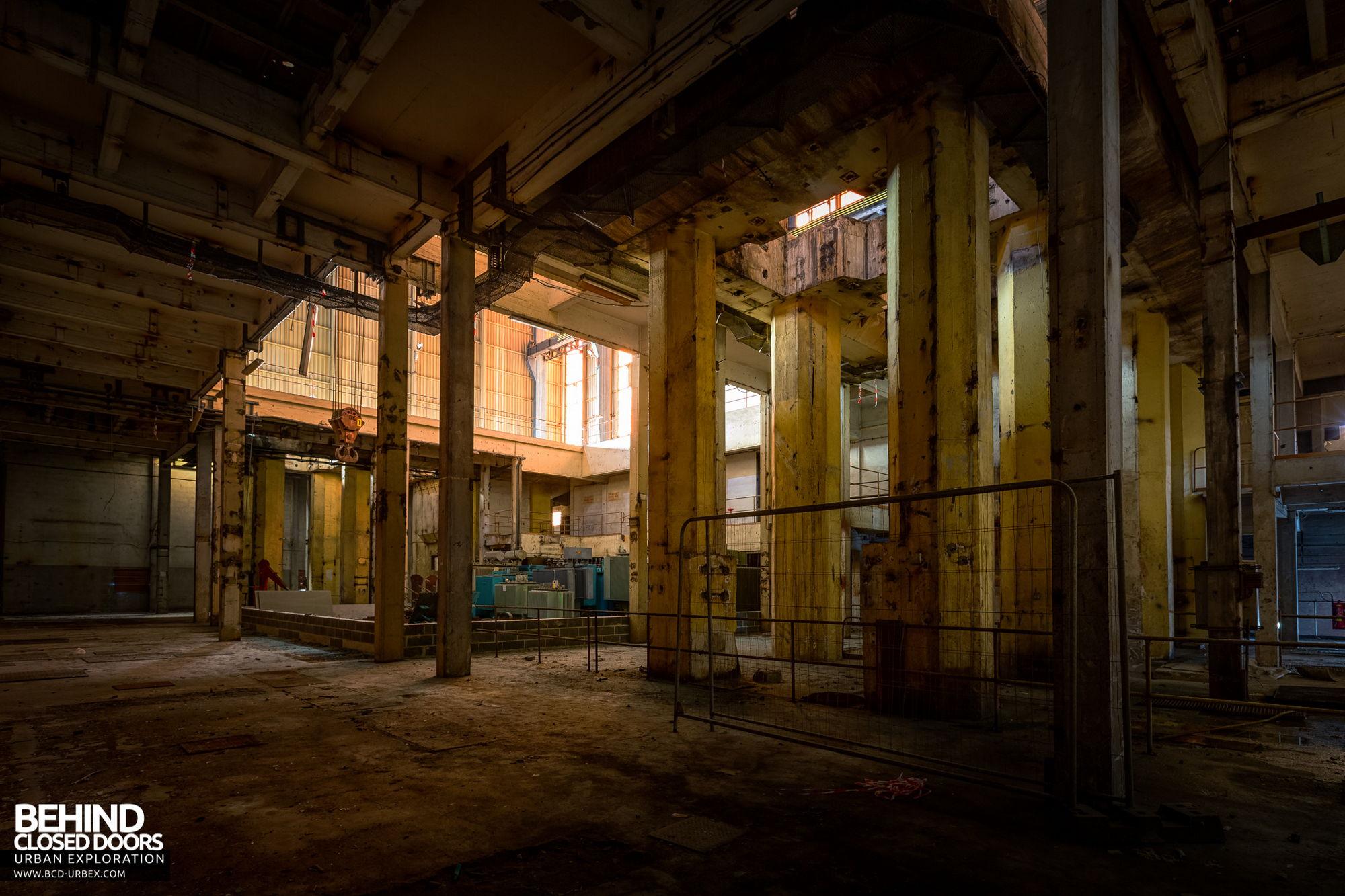 Stora Enso, Corbehem - Turbine hall ground floor
