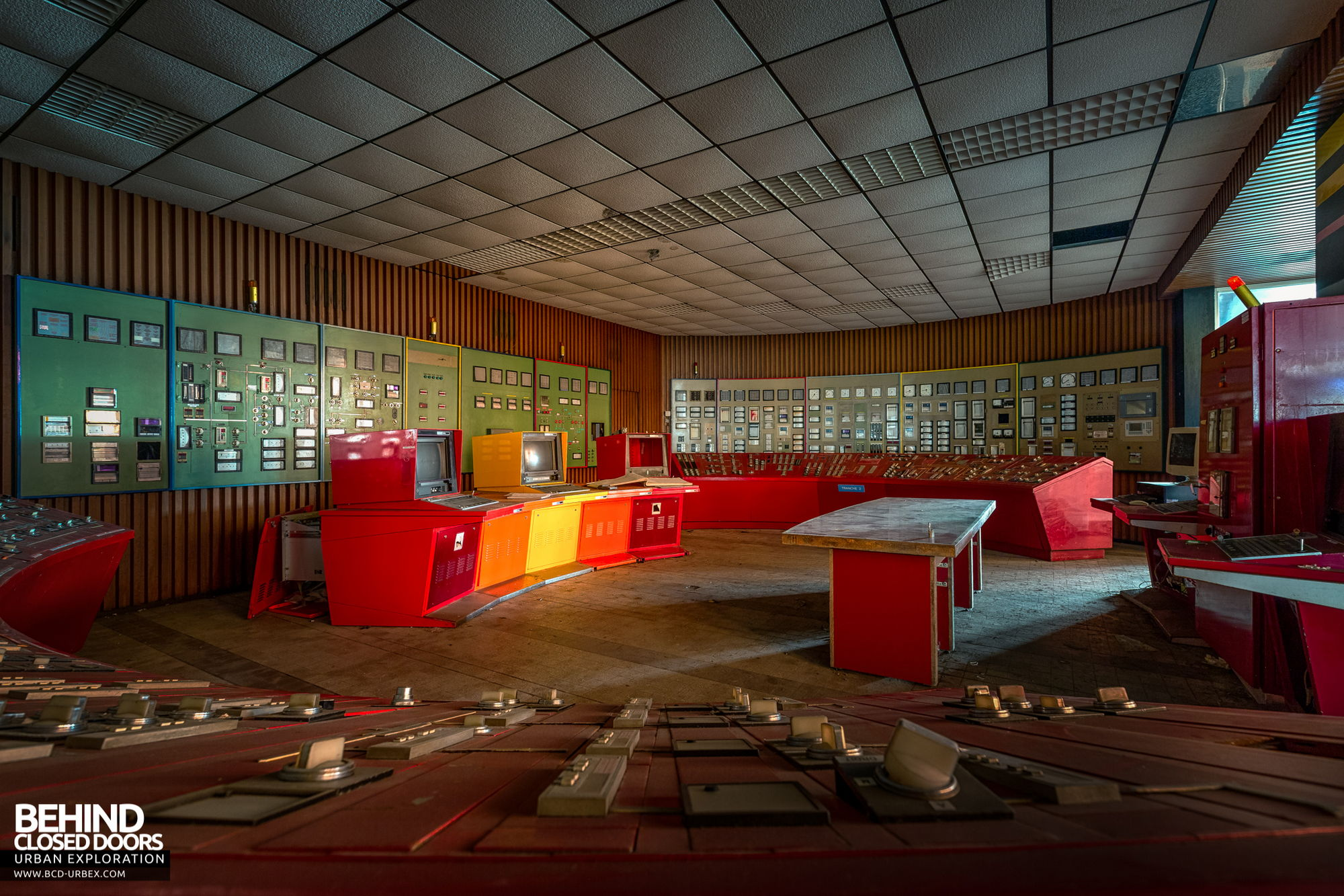 Stora Enso, Corbehem - Power station control room