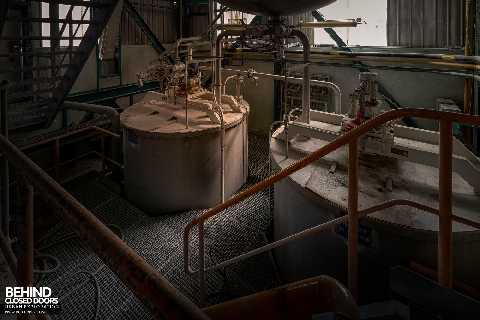 Stora Enso, Corbehem - Chemical pulping tanks