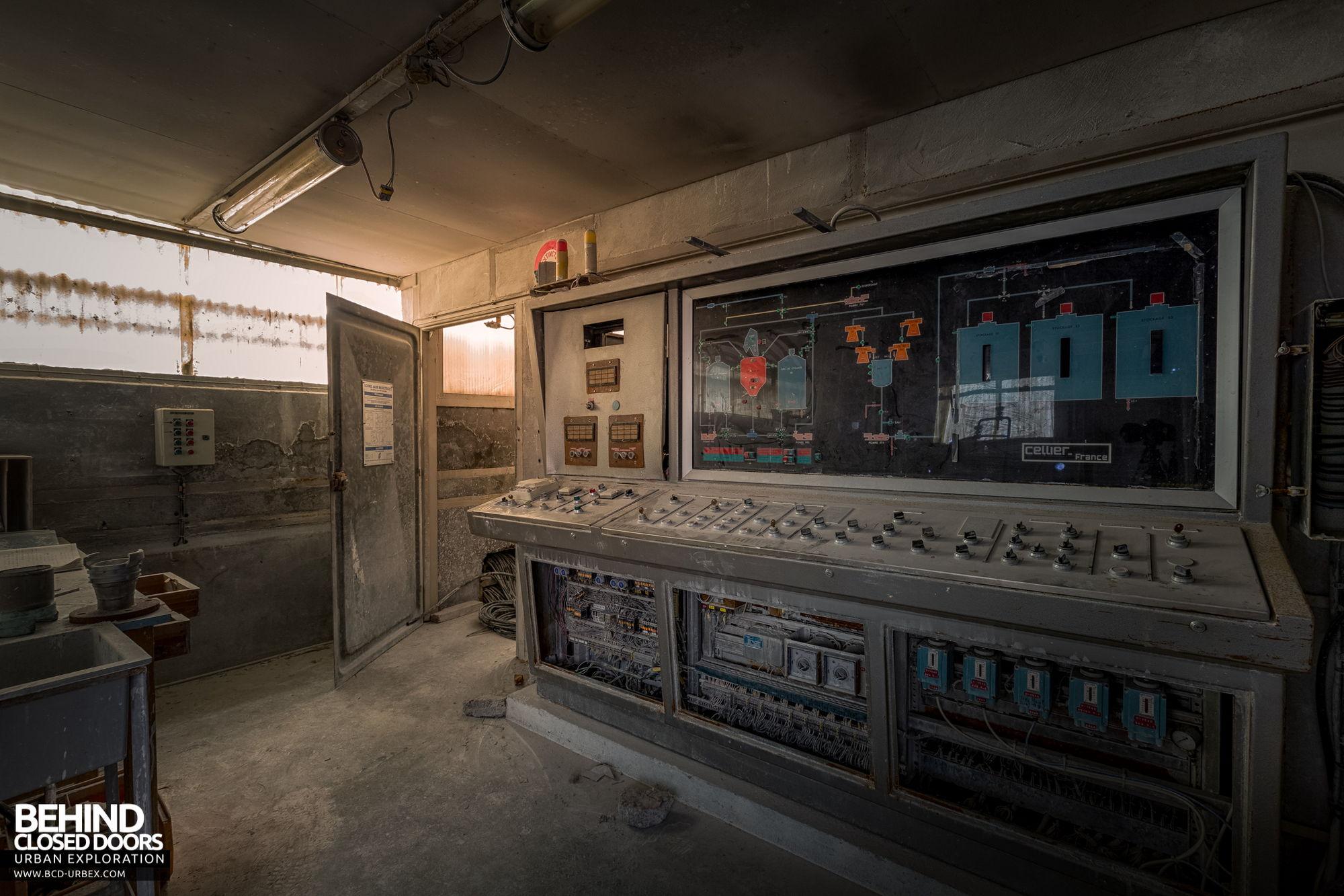 Stora Enso, Corbehem - Small control room