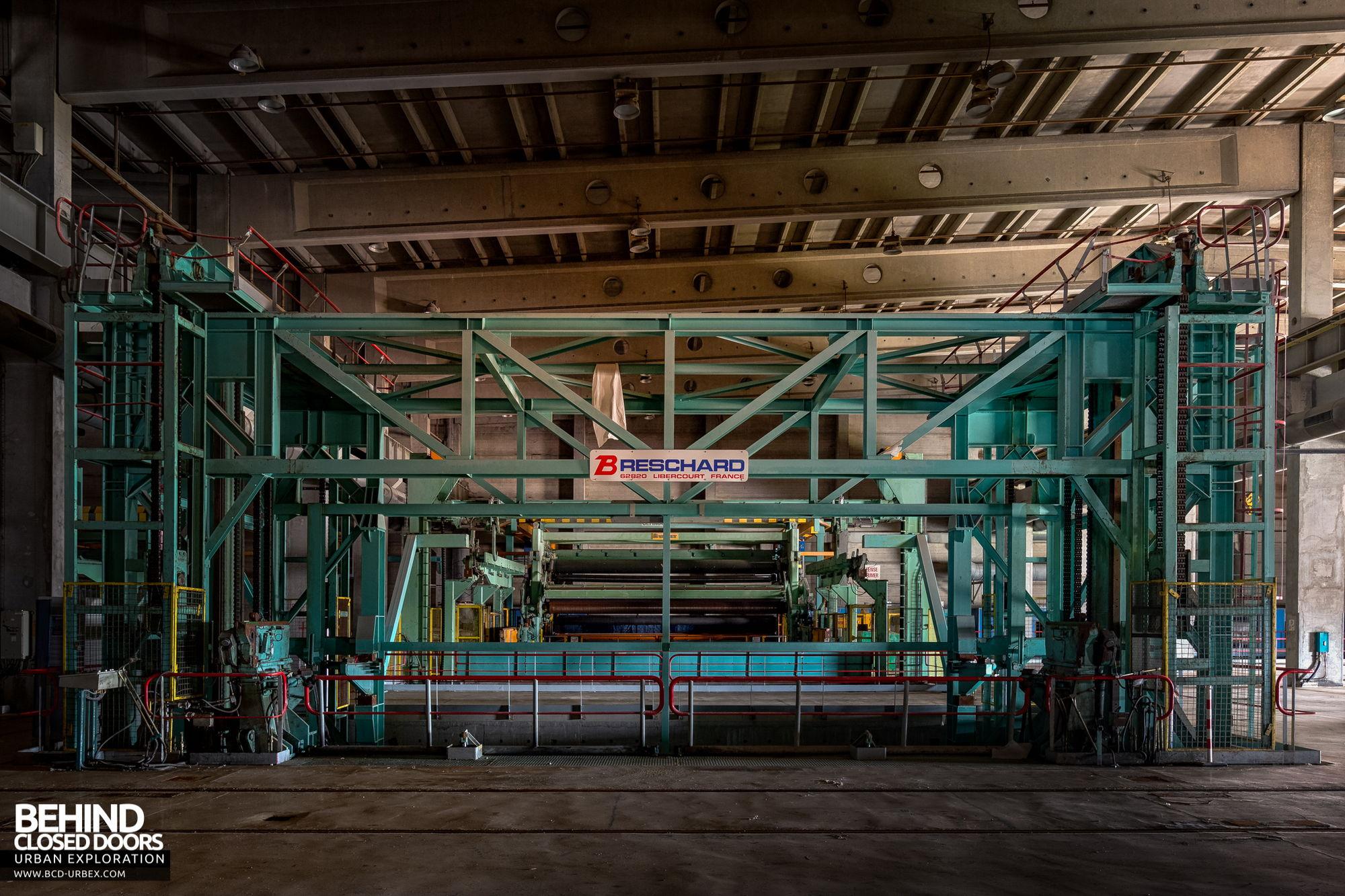 Stora Enso, Corbehem - Super calender machine
