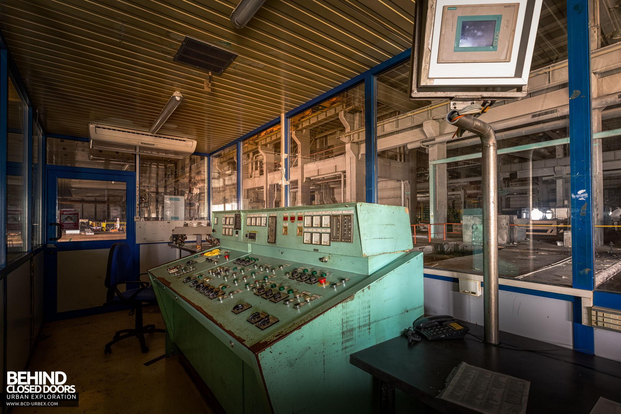 Stora Enso, Corbehem - Winder control room