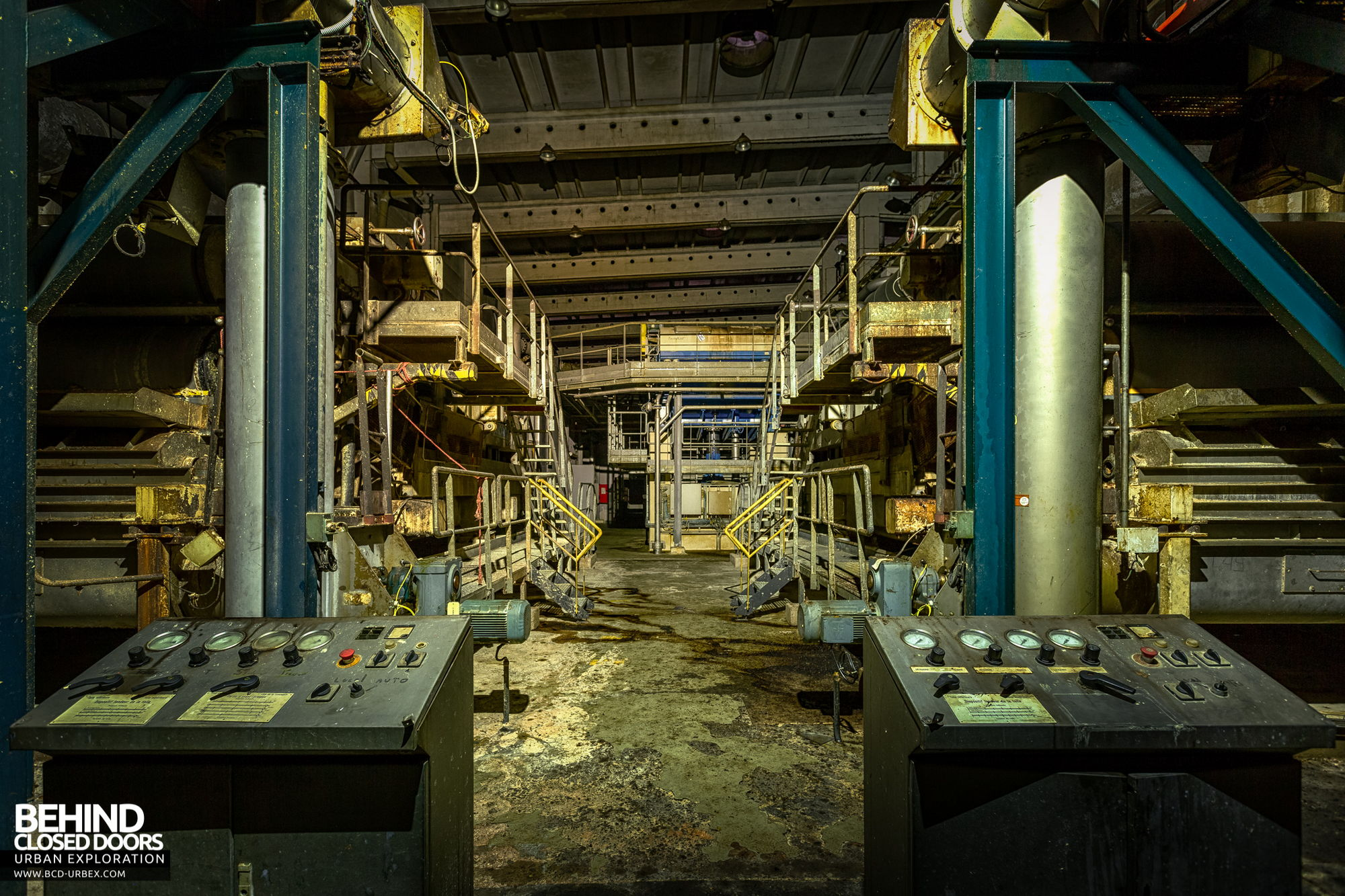 Stora Enso, Corbehem - Twin controls
