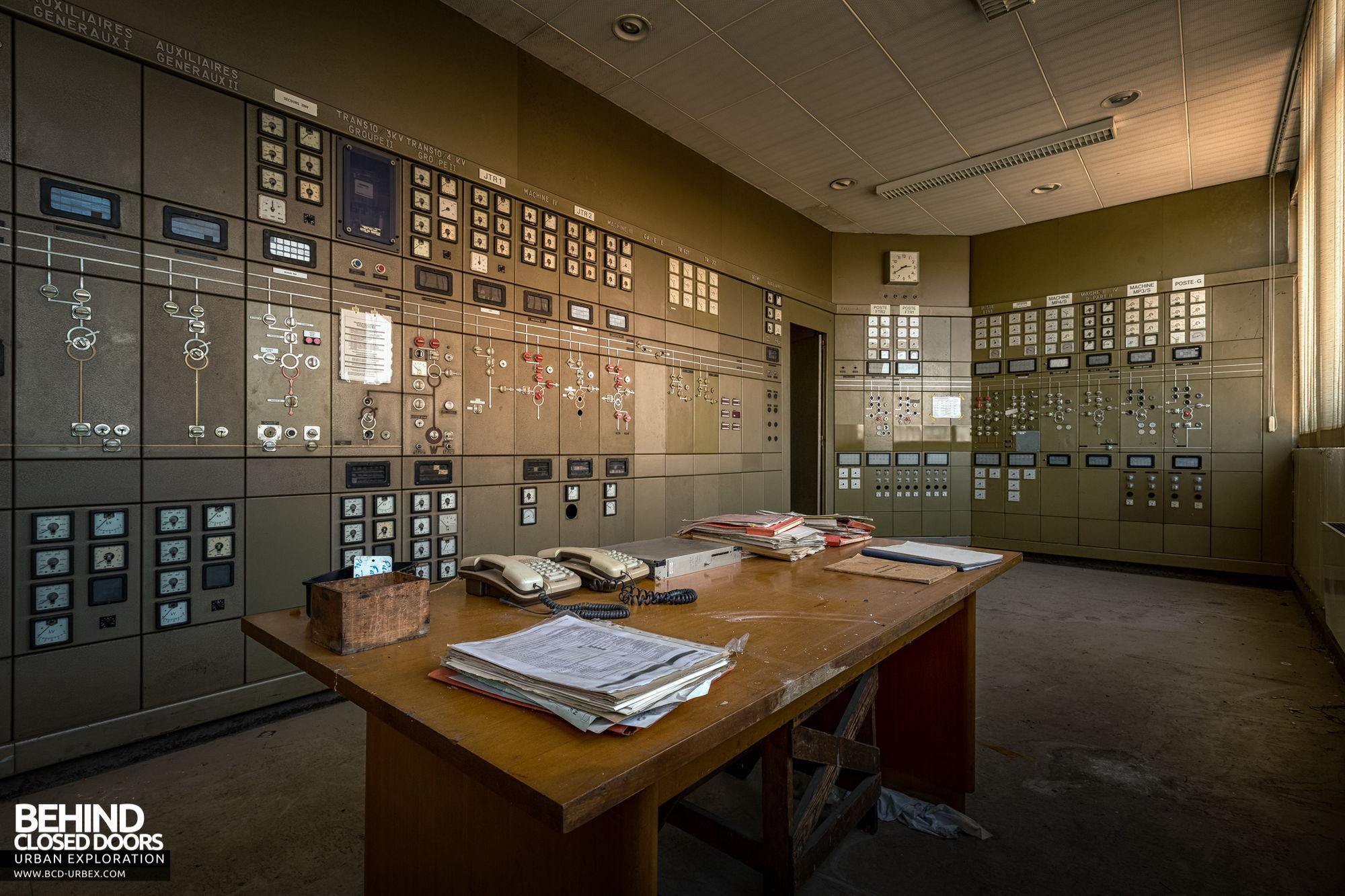 Stora Enso, Corbehem - Substation control room