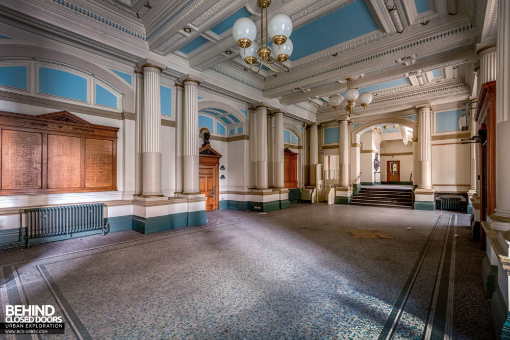 Nottingham Guildhall - The grand entrance hall