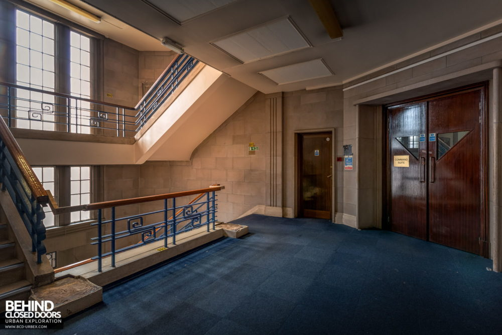 Police Station​ - Entrance to the Command Suite