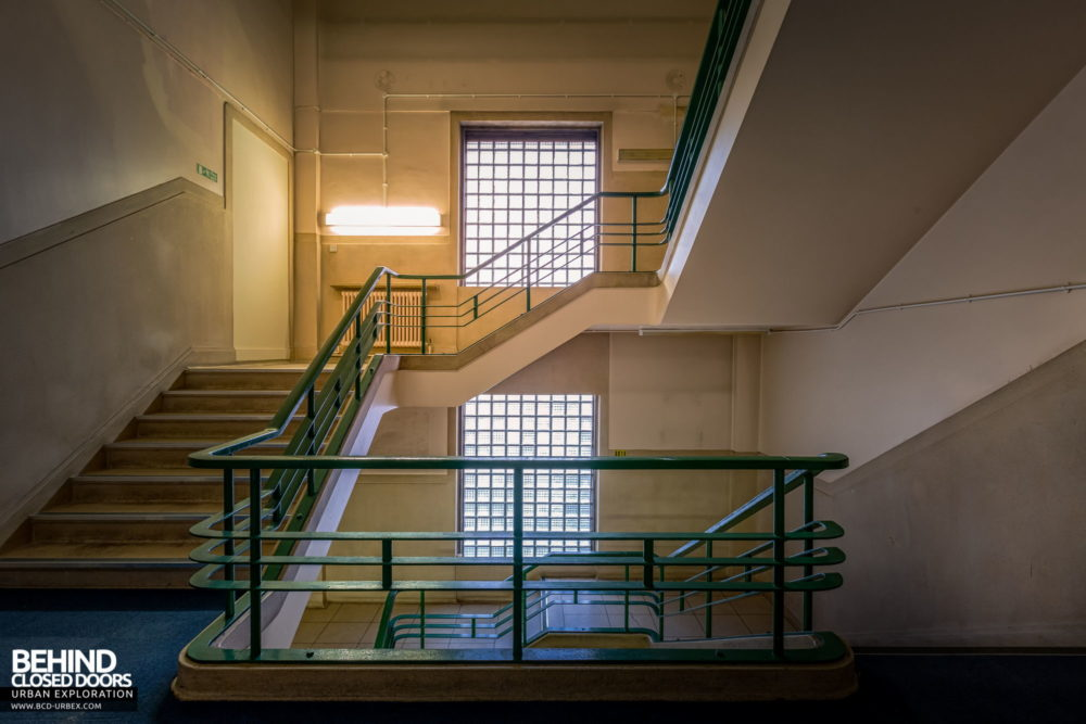 Police Station​ - Another staircase, this one leading to the cells below...
