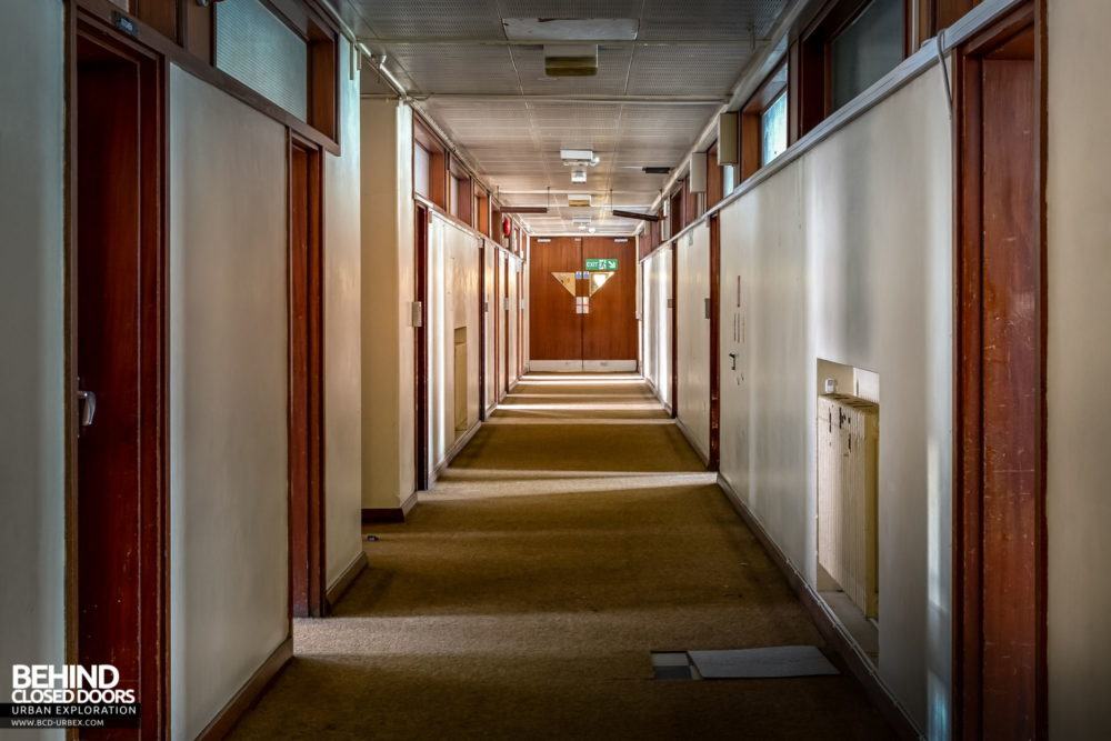 Police Station​ - Command Suite corridor