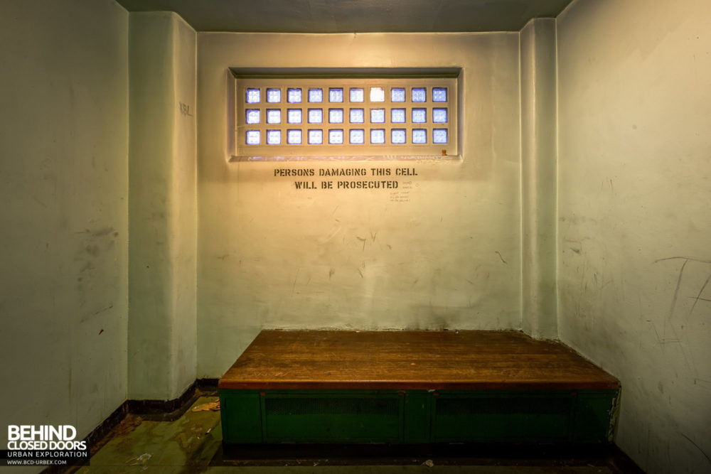 Police Station​ - One of the police station cells​