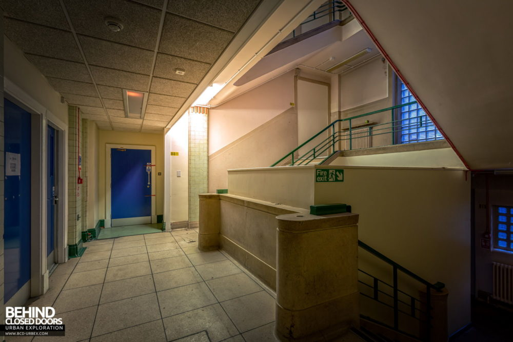 Police Station​ - Staircase to the cells