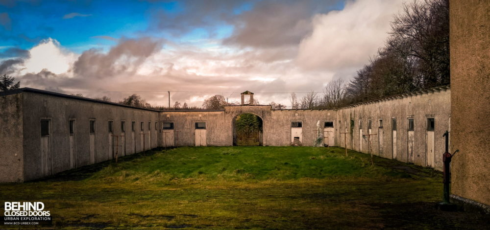 Castle MacGarrett, Ireland - Stable block