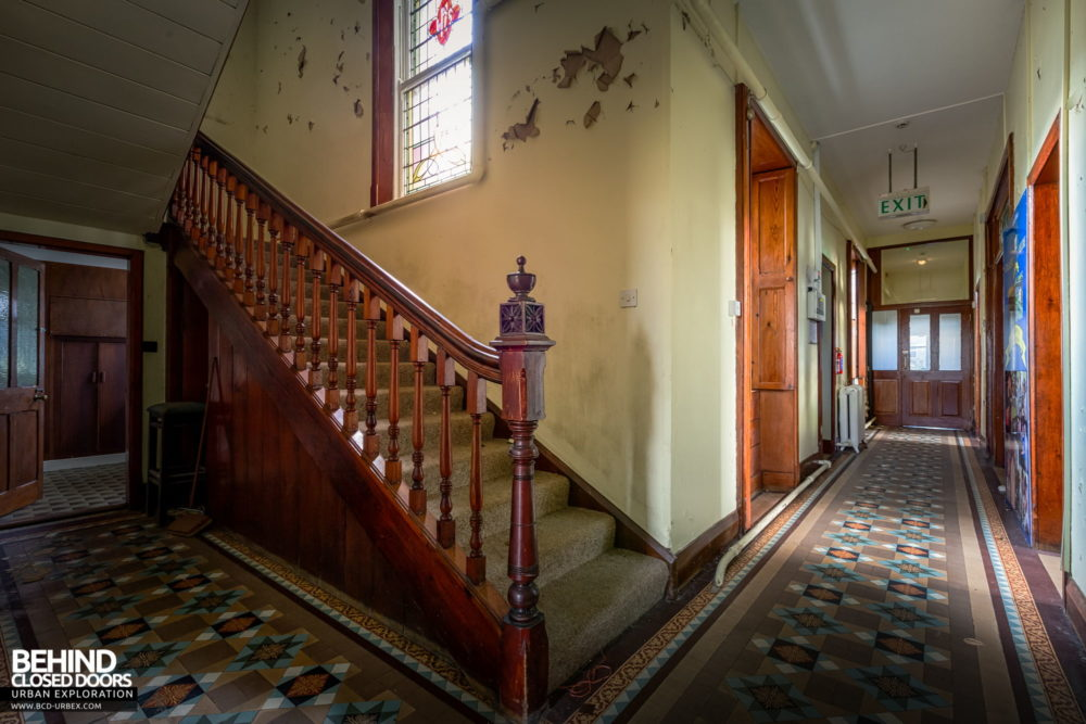 Buttevant Convent of Mercy - Corridor and staircase