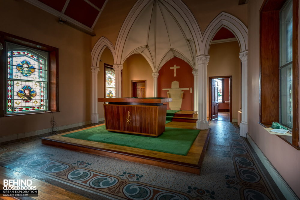 Buttevant Convent of Mercy - Another view of the sanctuary