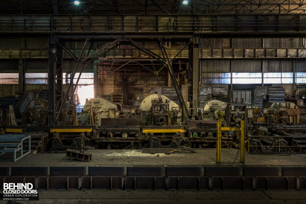 Lucchini Steel Works, Piombino - Rolling mill machinery