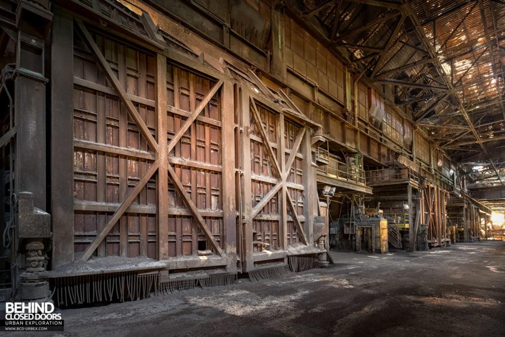 Lucchini Steel Works, Piombino - Converter floor