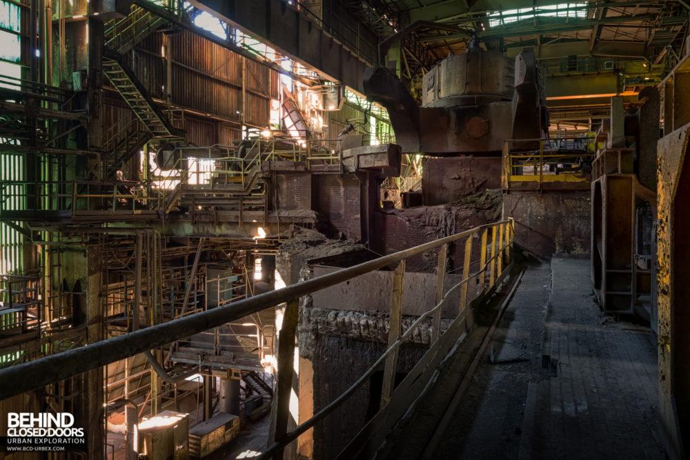 Lucchini Steel Works, Piombino - Ladle handling