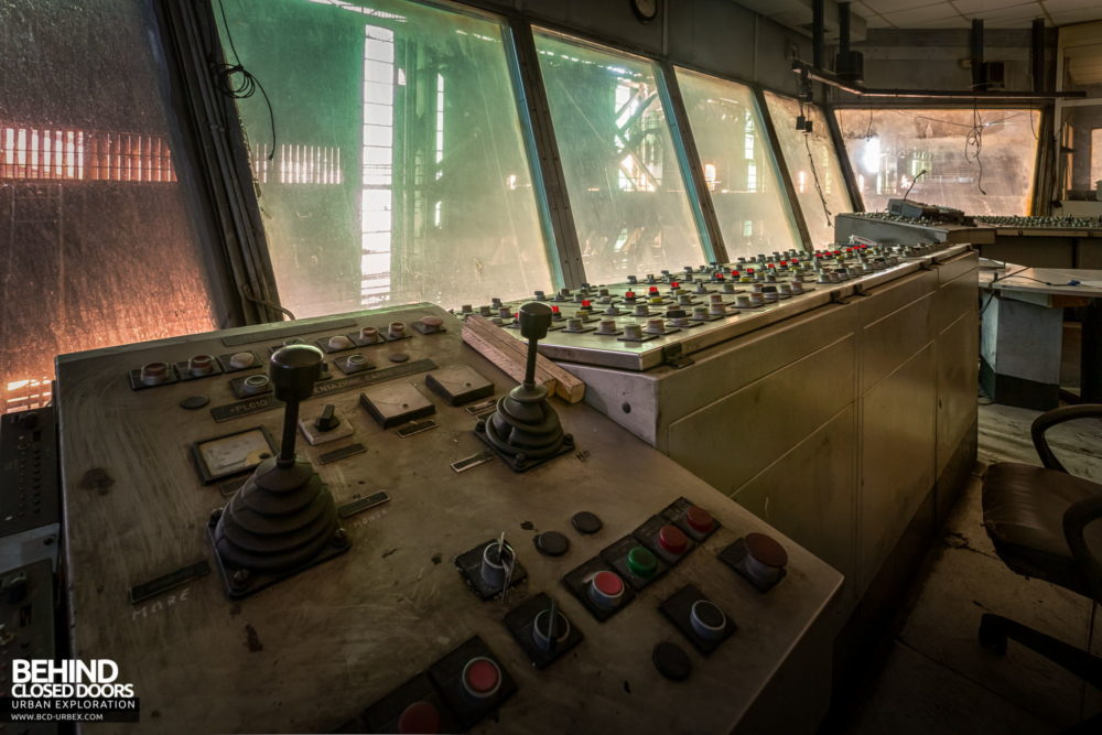 Lucchini Steel Works, Piombino - Control room