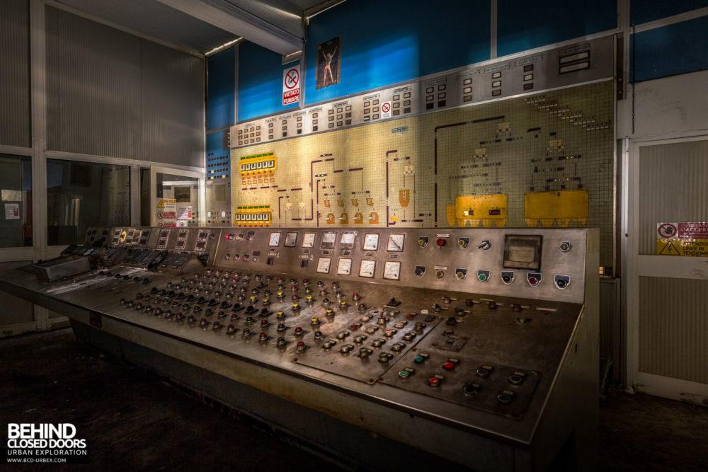 Lucchini Steel Works, Piombino - Coke oven control room